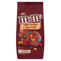M&M Double Chocolate Cookies 180g