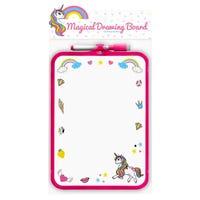Unicorn Wipe Board with Pen