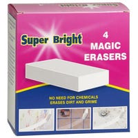 Superbright Magic Erase 4 Pack