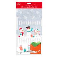 Make Your Own Christmas Cracker Kit in Snowman Design