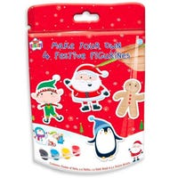 Christmas Paint Your Own Festive Figurines 4 Pack