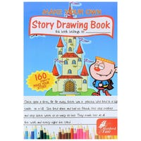 Make Your Own Story Drawing Book 160 Pages