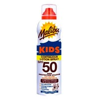 Malibu Kids Sun Protection Continuous Lotion Spray SPF 50 175ml