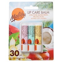 Malibu Factor 30 Lip Balm Assorted 3 Pack