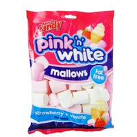Pink & White Marshmallows 250g