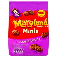 Maryland Cookies Minis Double Chocolate Chip 6 Pack