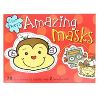 Colour And Wear Amazing Masks Red Book