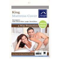King Waterproof Mattress Cover 150 x 200cm