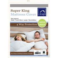 Super King Waterproof Mattress Cover 180 x 200cm