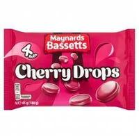 Maynards Cherry Drops 4 Pack 180g