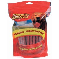 * Munchies Dog Treats Smokey Flavour 250g