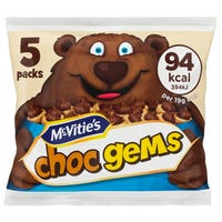 Mcvities Choc Gems 5 Pack