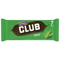 McVities Club Mint 7 Pack