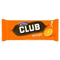 McVitie's Club Orange 7 Pack