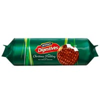 Mcvities Christmas Pudding Digestive Biscuits 250g