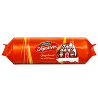 Mcvities Gingerbread Digestive Biscuits 250g