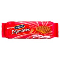 McVities Strawberries and Cream Digestives 250g