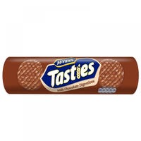 Mcvities Tasties Milk Chocolate Digestives 355g