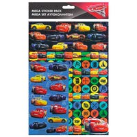 Cars 3 Mega Sticker Pack