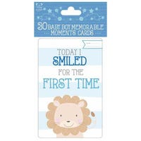 Baby Boy Memorable Moments 30 Cards