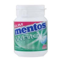 Mentos 40 Pack Gum White Spearmint
