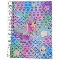 Mermaid A5 Spiral Notebook