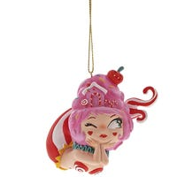 The World Of Miss Mindy Cotton Candy Mermaid Ornament