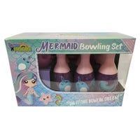 Toy Mania Mermaid Bowling Set