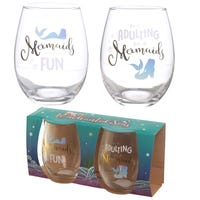 Enchanted Seas Glass Tumblers 2 Pack