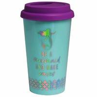 Mermaid Plastic Travel Mug