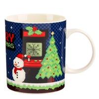 Merry Christmas Game Over Porcelain Mug