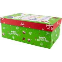 Christmas Rectangle Gift Box Merry Christmas