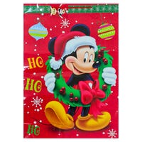 Disney Christmas Mickey Mouse XXL Gift Bag