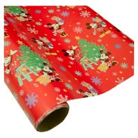 Disney Gift Wrap Mickey Mouse 6m