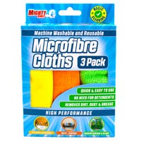 Mighty Burst Microfibre Cloths 3 Pack