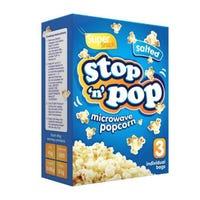 Microwave Salty Popcorn 3 x 85g