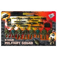 Combat Mission 8 Man Military Squad