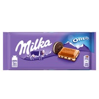 Milka Oreo Chocolate Bar 100g
