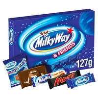 Milky Way and Friends Selection Box 127g