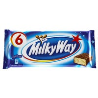 Milky Way Chocolate Bars 6 Pack