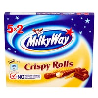 Milky Way Crispy Rolls 5 Pack