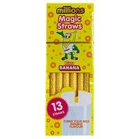Millions Magic Straws in Banana 13 Pack