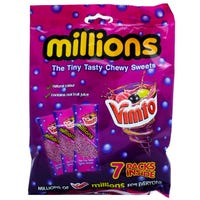 Vimto Millions Chewy Sweets 7 Pack