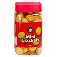 Mini Crackers Tub 350g