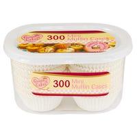 Mini Muffin Cases 300 Pack