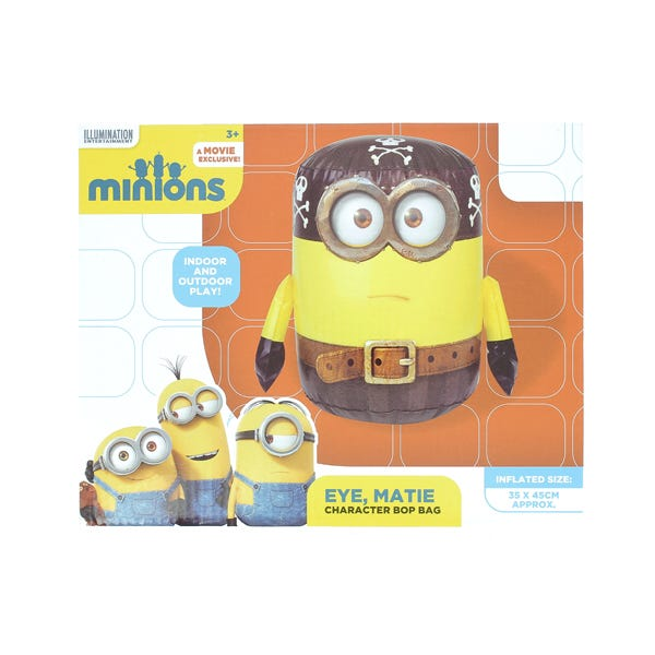 Eye Matie Despicable Me Minions 45cm Inflatable Character Bop Bag
