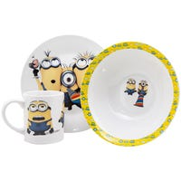 Minions Porcelain Breakfast Set