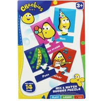 Cbeebies My First Puzzle Mix And Match