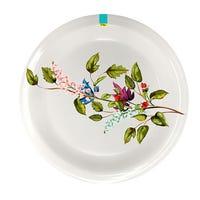 Edgo Melamine Mixed Flowers Plate 8inch