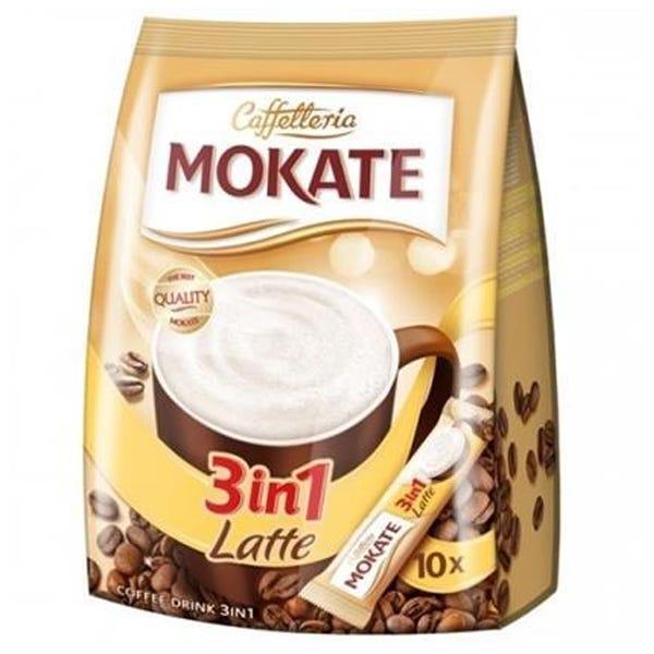 Mokate Bag Latte 3in1 Sachet 10 Pack